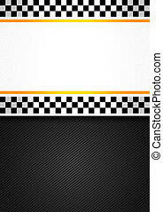 Taxi blank racing background