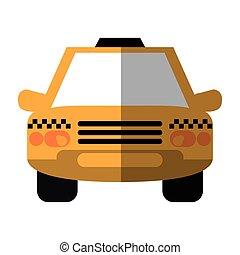 taxi cab car public transport shadow