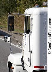taxi, camion, détail