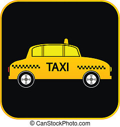 Taxi car button