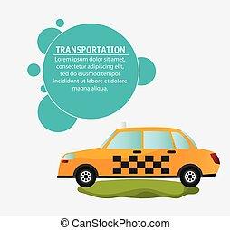 taxi car service transport design
