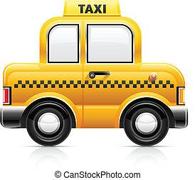 taxi, coche
