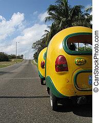 taxi, cubaine