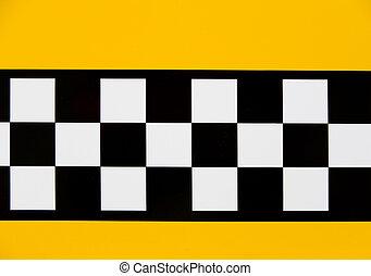 taxi, détail