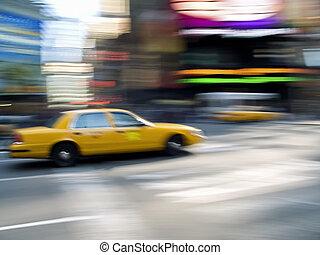 taxi, derékszögben, időmegállapítás