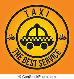 taxi design  - taxi graphic design , vector illustration