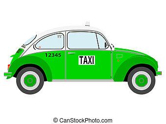 Taxi - Retro mexican taxi