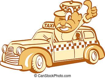Taxi Driver Clip Art