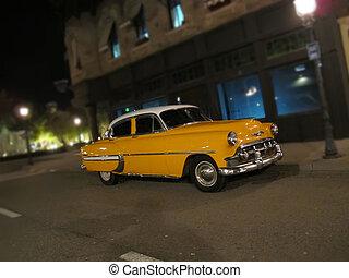 taxi, enigt, gammal, mycket, påstår, typisk