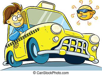 taxi förare