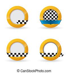 Taxi icon designs