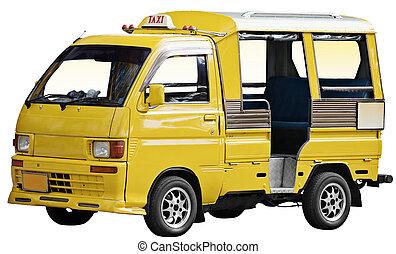 Taxi in Thailand - tuk tuk