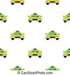 Taxi pattern flat