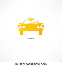 taxi, pictogram