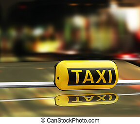 taxi, rápido