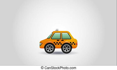 taxi service design, Video Animation