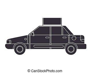 taxi service public icon