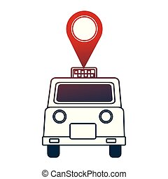 taxi service public pin map location