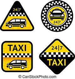 Taxi - set four labels