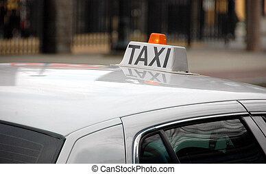 taxi signera