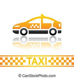 taxi taxi, icône