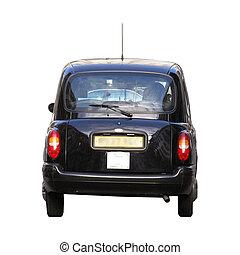 taxi taxi, noir, londres, voiture