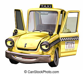 taxi, toon