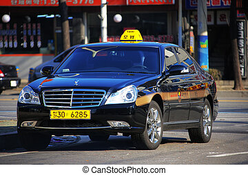 Taxi Transportation in south korea