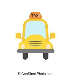 taxi,  vector, Ilustración