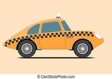 taxi., vendange