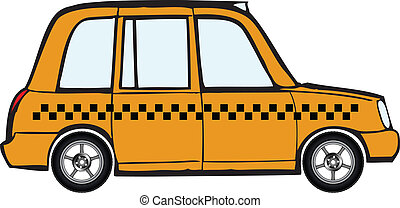 taxi, voiture