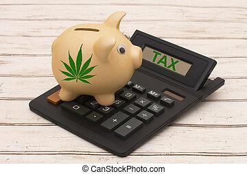 Taxing the sale of marijuana