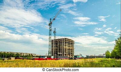 taymlaps, construction, maison
