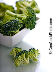 tazón, bróculi