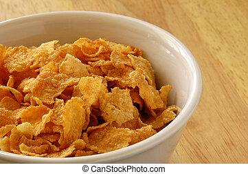tazón, cereal