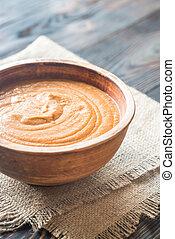 tazón de fuente de la sopa, bisque