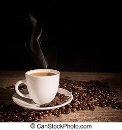 taza para café, caliente
