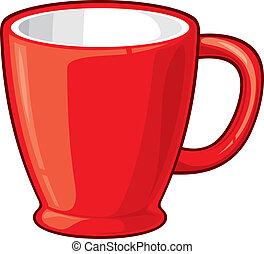 taza para café, (coffee, mug)