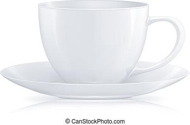 taza para café, vector