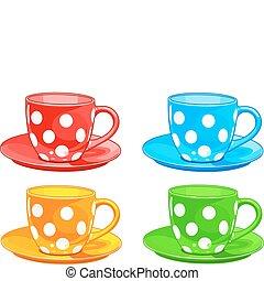 taza y platillo