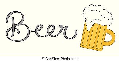tazza birra bicchiere