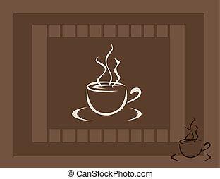tazza caffè, icona