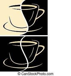 tazza caffè, latte