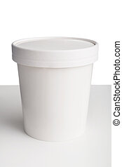 tazza, fondo, tavola, coperchio, carta, bianco, isolato