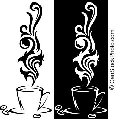 tazze caffè, due