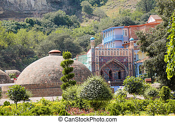 tbilisi,  Geórgia, antigas, cidade,  capital