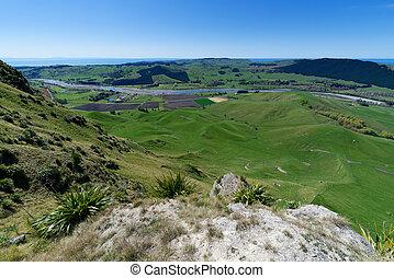 Te Mata Peak, Hawkes Bay, New Zealand - View from Te Mata ...