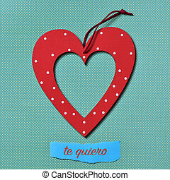 te, quiero, te amo, en, español