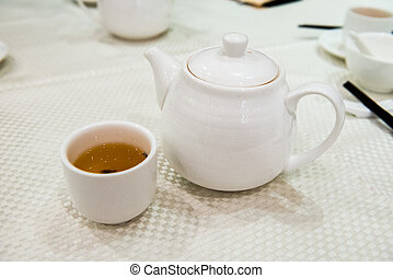 Tea at Chinese diner
