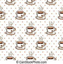 tea background pattern